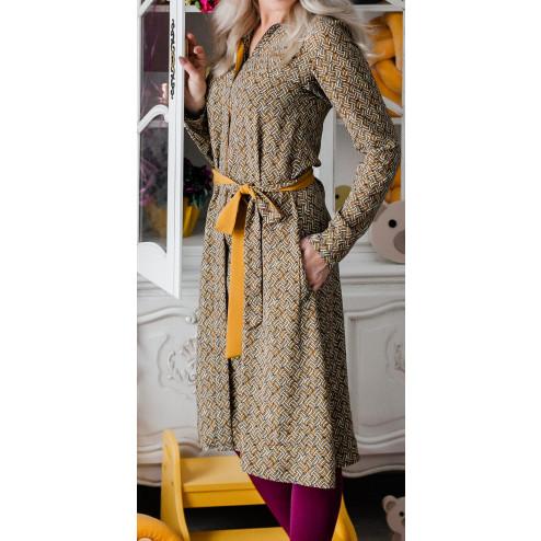 Female stylish dress MONACO Charcoal