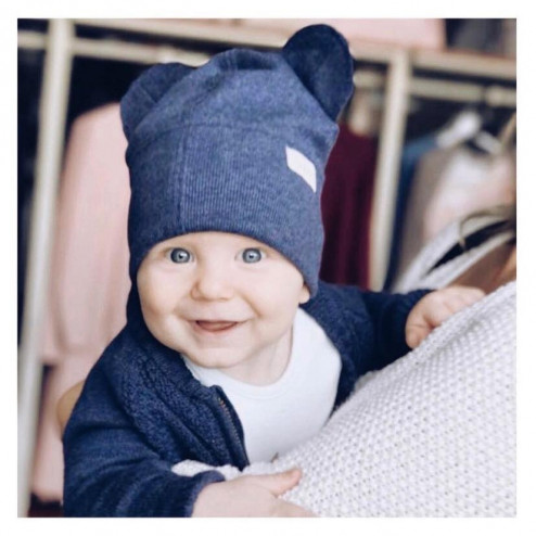 BEAR cloud one layer beanie