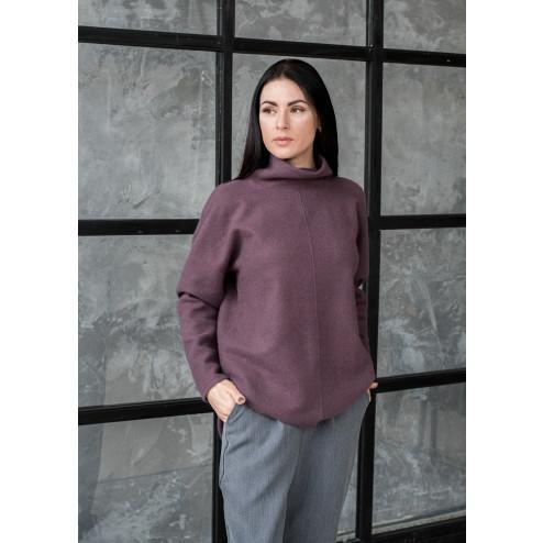 Female thin grey leisure casual top PARIS