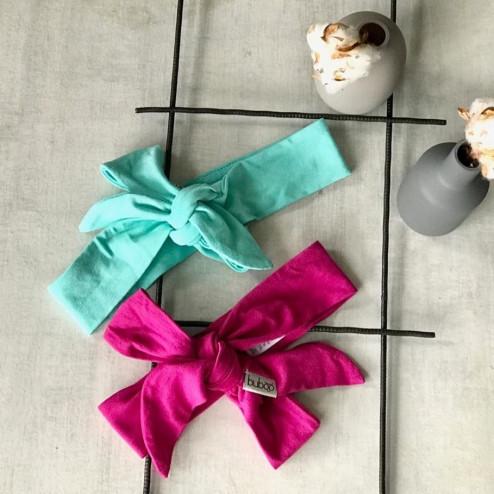 Stylish knotted headband KNOT, Mint