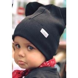 Vienguba kepurė BEAR anglis