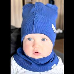 Vaikiška dviguba kepurė BEAR rugiagėlė