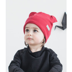 BEAR VYŠNIA dviguba kepurė