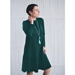 Moteriška patogi ir stilinga suknelė GENEVA smaragdas