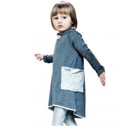 Suknelė POCKET pilka