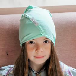 Vaikiška plona kepurė UPSIDEDOWN - mėta