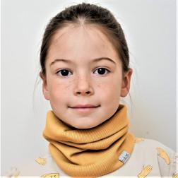 Vaikiškas šalikas - mova pavasariui, rudeniui - Garstyčios