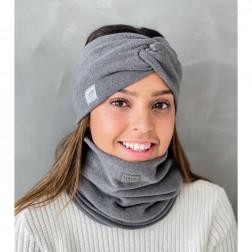 Stilinga moteriška galvajuostė pavasariui / rudeniui / žiemai, Tamsiai pilka