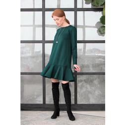 Moteriška prabangi suknelė ROMA smaragdas