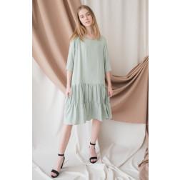 Moteriška patogi ir stilinga suknelė WOW, mėta