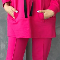 Moteriški stilingi laisvalaikio šortai BUBOO active, arbūzas