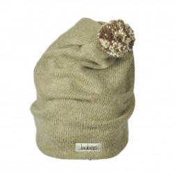 GNOM dviguba vilnonė kepurė smėlis