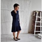 Moteriška patogi ir stilinga suknelė GENEVA Karališka mėlyna
