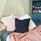 Interjero pagalvė AA PUPA, pelenų rožės