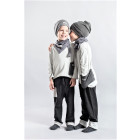 POCKET pants dark grey (light)