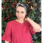 Moteriška patogi ir stilinga minkštinto lino suknelė ARUBA Avietė