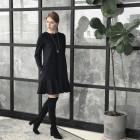 Moteriška prabangi suknelė ROMA Light Juoda