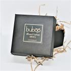 Moteriškas įspūdingas ir stilingas kaklo papuošalas MADEIRA nakties juoda dėžutė