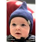 Vaikiška dviguba kepurė su raišteliais DROP rudeniui/žiemai rugiagėlė Rudeninė/žieminė