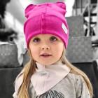 Vaikiška dviguba kepurė BEAR arb0zas