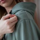 Moteriškas stilingas laisvalaikio džemperis su paslėptais užtrauktukais šonuose BUBOO active