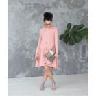 Moteriška patogi ir stilinga suknelė VENECIJA Pudra