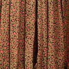 Moteriška prabangi suknelė WOW leopardinė ruda midi