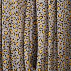 Moteriška prabangi suknelė WOW leopardinė pilka midi