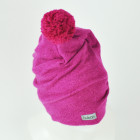 GNOM double layered wool beanie lilac