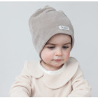 SCREWcz double layered velour beanie sand
