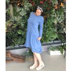 Moteriška patogi ir stilinga suknelė VENECIJA Džinsas