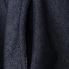 Įspūdinga džinsinė moteriška suknelė MILANAS su dryžuotu dirželiu