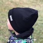 Vaikiška kepurytė TRENDY juoda