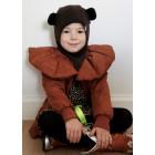 Kids spring/fall helmet BEAR mocha