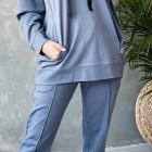 Stilingas moteriškas džemperis BUBOO active, mėlyna - indigo