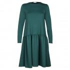Moteriška patogi ir stilinga suknelė VENECIJA Smaragdo Žalia Grožis