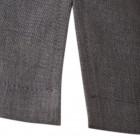 Stilinga moteriška lino / viskozės palaidinė TAHO trumpomis rankovėmis ir paslėptu užtrauktuku priekyje, antracitas