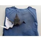Moteriška patogi ir stilinga suknelė MONACO Mėlynė