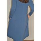 Moteriška patogi ir stilinga suknelė MONACO Šilauogė