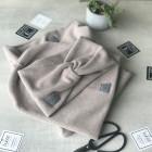 Stilinga moteriška mova - šalikas rudeniui / žiemai - Latte
