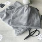 Moteriška kepurė rudeniui žiemai - Pilka