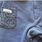 Šiltos kelnės POCKET mėlynių su vilnone kišene