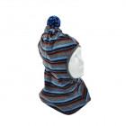 Stylish fall winter wool kids HELMET blue