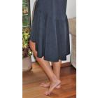Moteriška patogi ir stilinga suknelė VENECIJA Mėlynas Šerkšnas