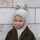 Pavasario/rudens vaikiškas šalmukas FASHIONISTA smėlis