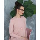 Moteriškas įspūdingas ir stilingas kaklo papuošalas MADEIRA pelenų rožė