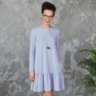 Moteriška patogi ir stilinga suknelė FLORENCIJA Alyva