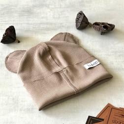 Vienguba kepurė BEAR kakava