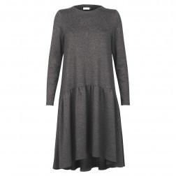 Moteriška patogi ir stilinga suknelė VENECIJA Antracitas
