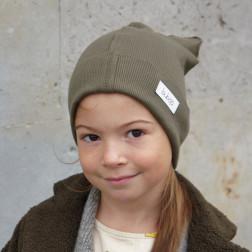 Vienguba kepurė BEAR chaki
